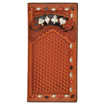 3D Western Rodeo Fullhouse Wallet