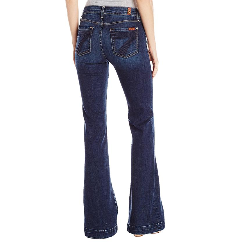7 For All Mankind Womens Dojo Trouser with 7 Pocket in Santiago Canyon