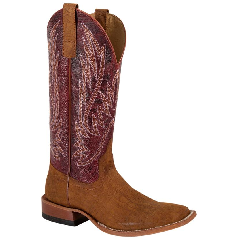 Horse Power Mens Cognac Hippo Boots