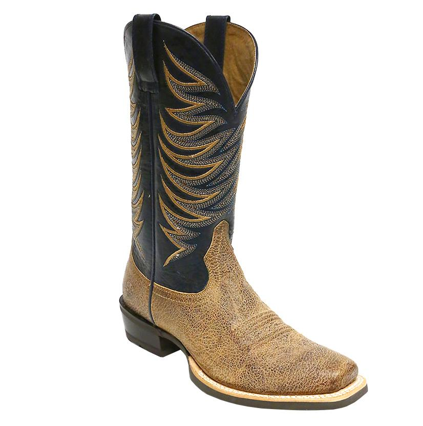 Ariat Men's Crossfire Quicksand Black And Tan Boot