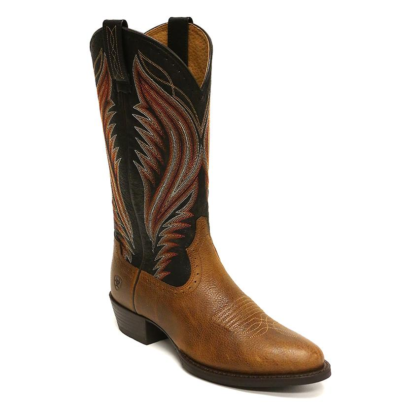 Ariat Men's Boomtown Copper Kettle Brown Boots