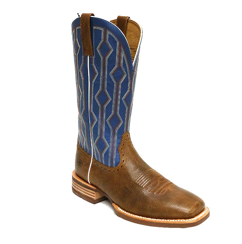 Ariat Live Wire Blue Copper Kettle Boot