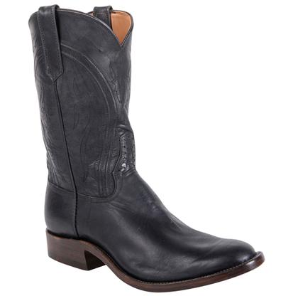 Rios of Mercedes Mens Special Black Leather Boots