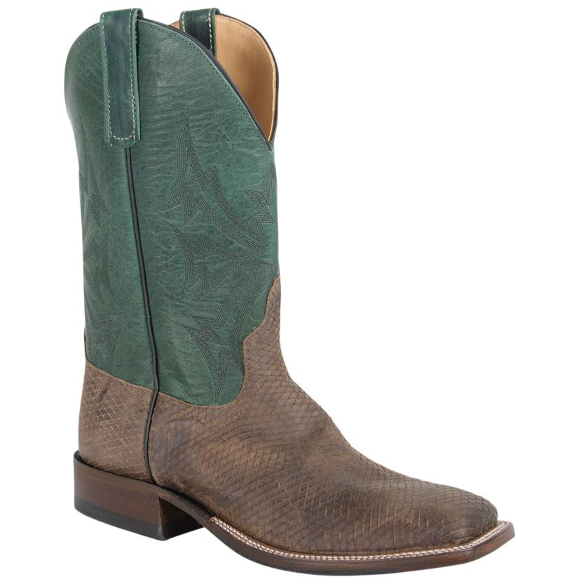 Anderson Bean Mens Hillbilly Golden Turquoise Fools Boot