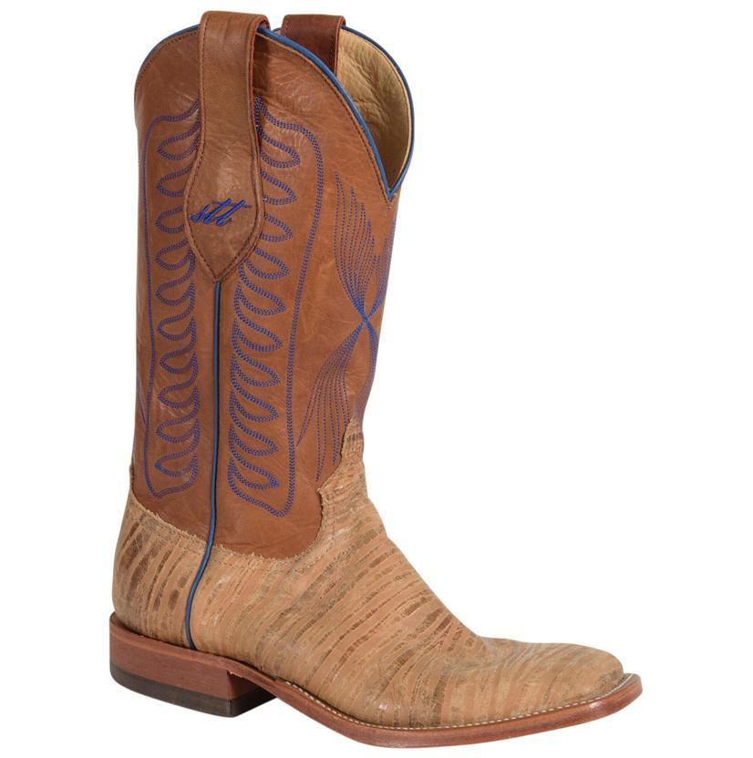Anderson Bean Mens Big Foot Natural Square Toe Remuda Boots