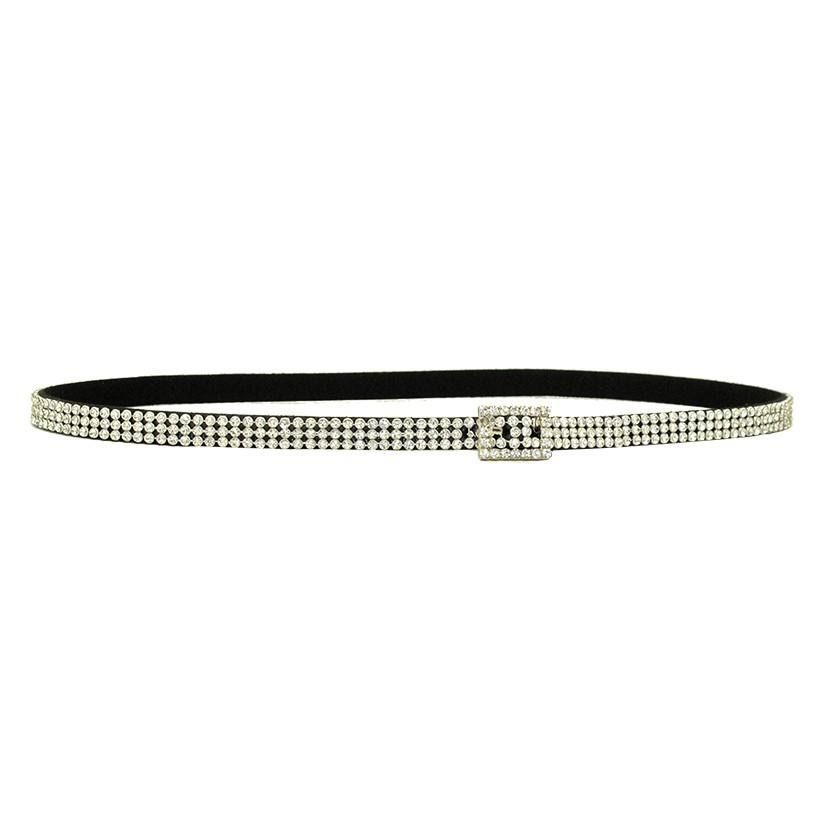 3d Silver Crystal Fashion Hatband