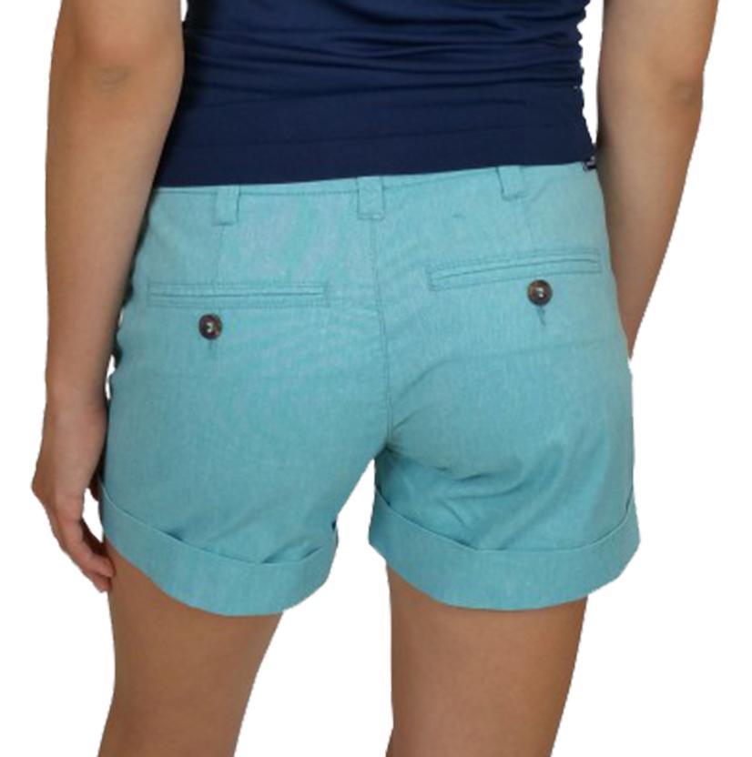 Dear John Womens Blue Hampton Shorts