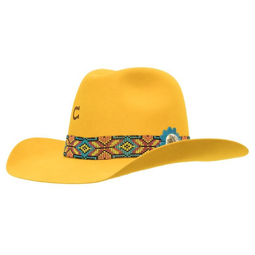 Charlie 1 Horse Womens Gold Digger Felt Hat