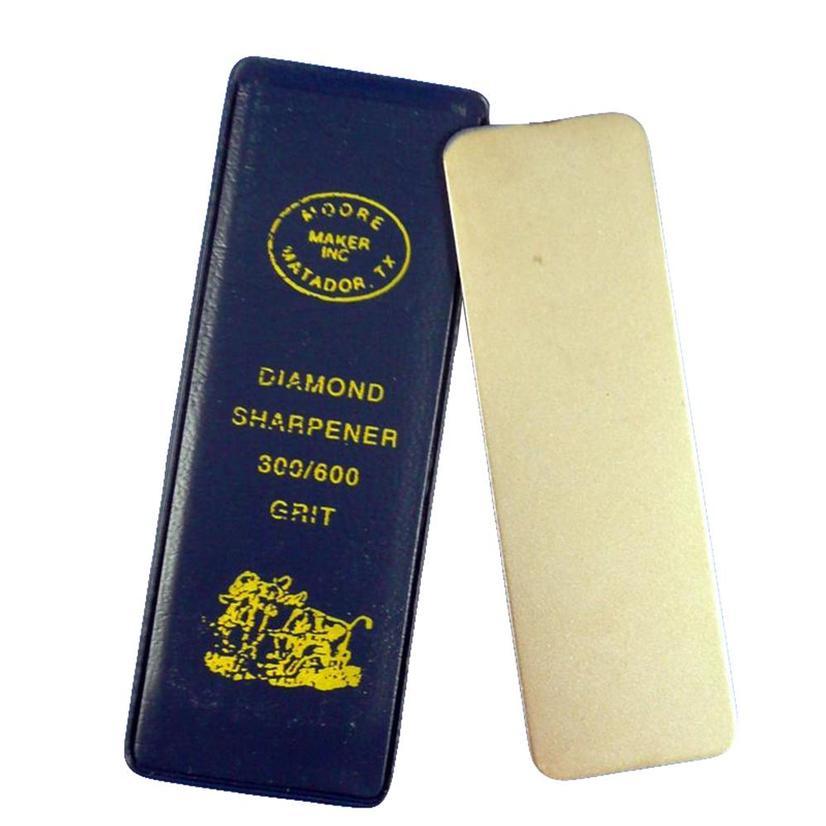 Diamond Pocket Hone Knife Sharpener 300/600 Grit From Moore Maker