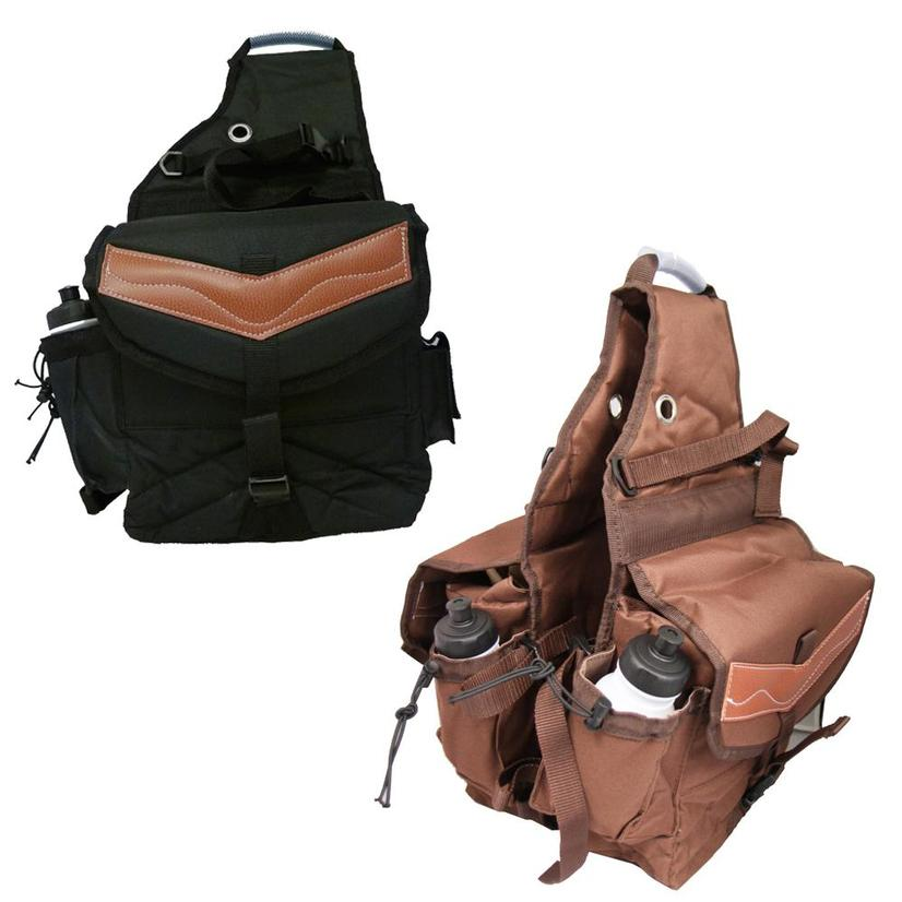 Deluxe Canvas Insulated Saddle Bag