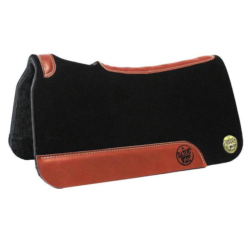 Bayou West Contoured Saddle Pad 1 1/8