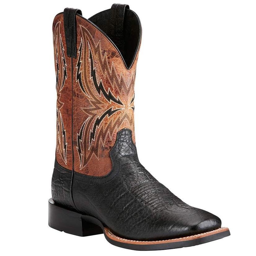 Ariat Mens Arena Rebound Black Elephant Boots