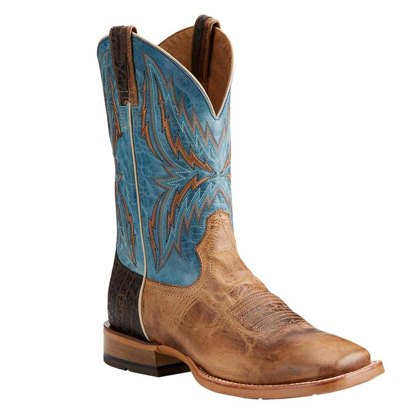 Ariat Mens Arena Rebound Blue Wheat Boot