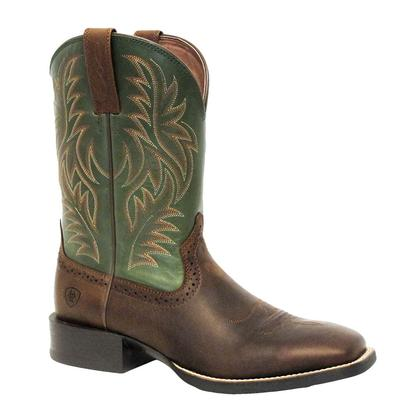 Ariat Mens Sport Western Rafter Tan Prairie Pesto Boot