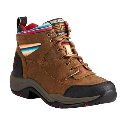 Ariat Womens Terrain Walnut Serape Shoe