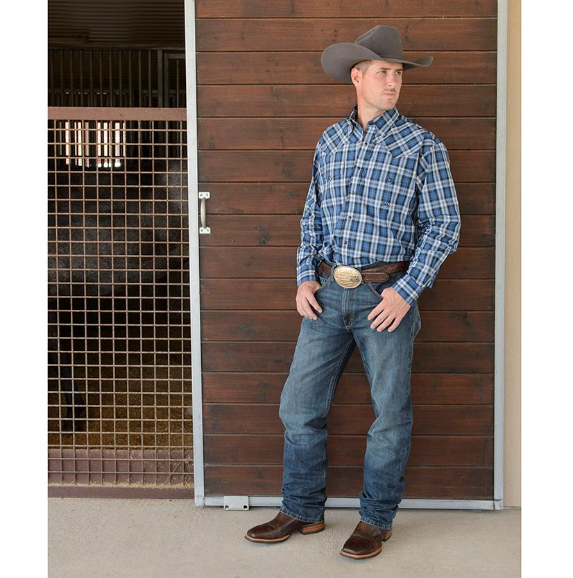 99f66730 Wrangler Mens 20X-01 Competition Jean River Wash