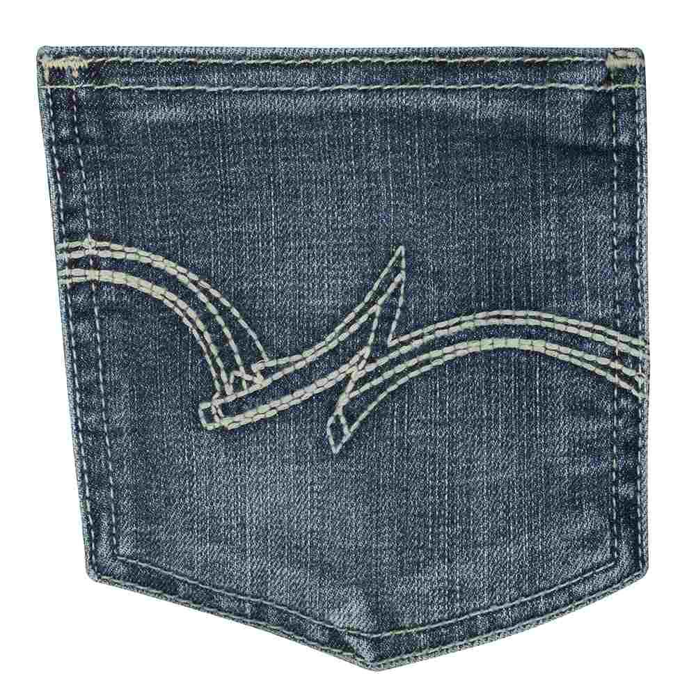 2ff4b258fda Wrangler Womens Mid Rise Straight Leg Jeans - Plus Size