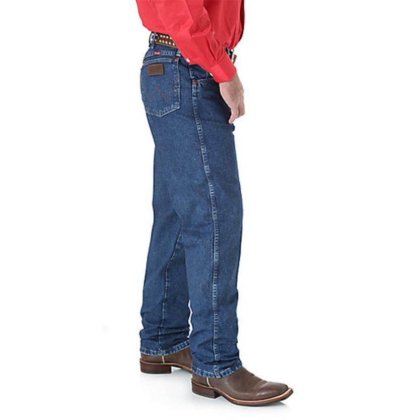 2bfa5d5e Wrangler Mens Cowboy Cut Relaxed Fit Jeans - Stonewash