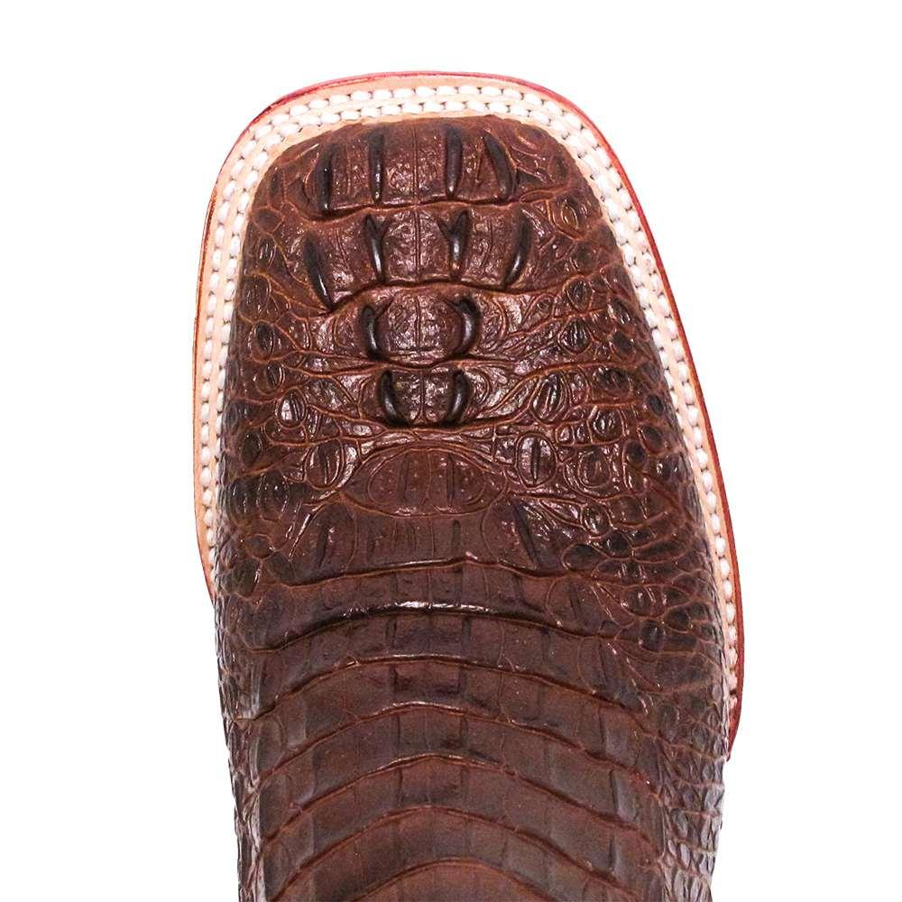 354869f905a Ferrini Mens Sport Rust Crocodile Cowboy Boots