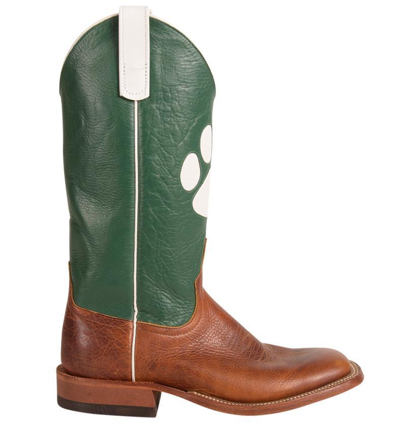 s cub green paw print boots