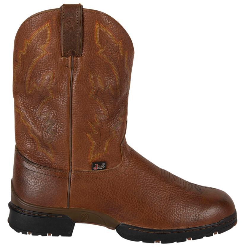 deef0f7d6 Justin Mens George Strait Sunset Rage Round Toe Boots