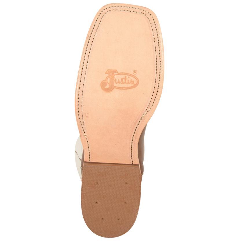 75bc2686753 Justin Mens Bent Rail Chocolate Burnished Calf Square Toe Boots