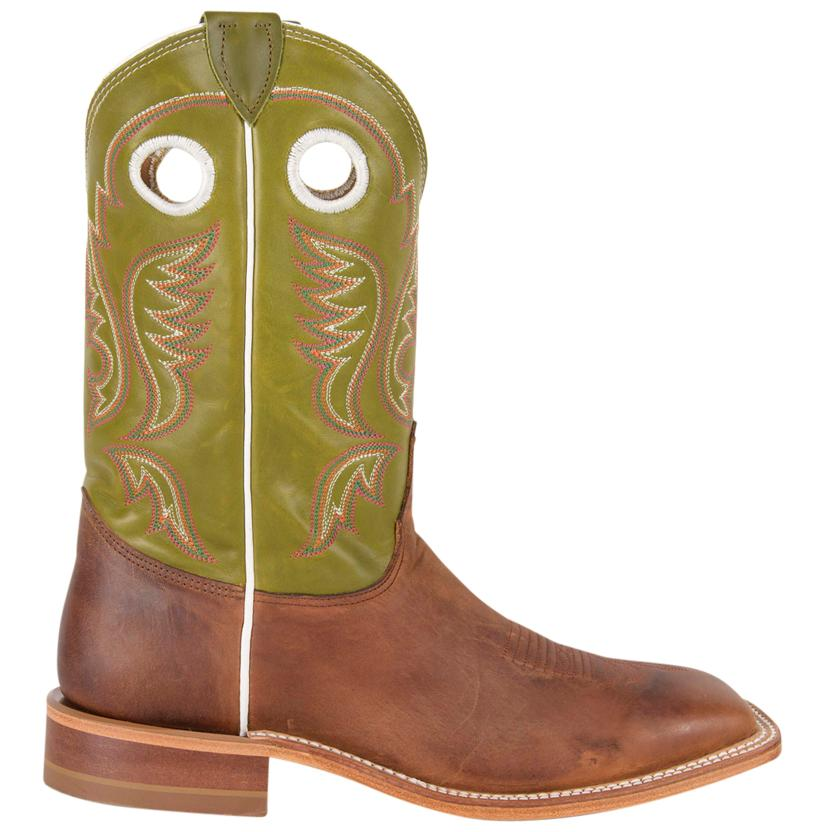 619a086fefb Justin Mens Bent Rail Square Toe Cowboy Boot