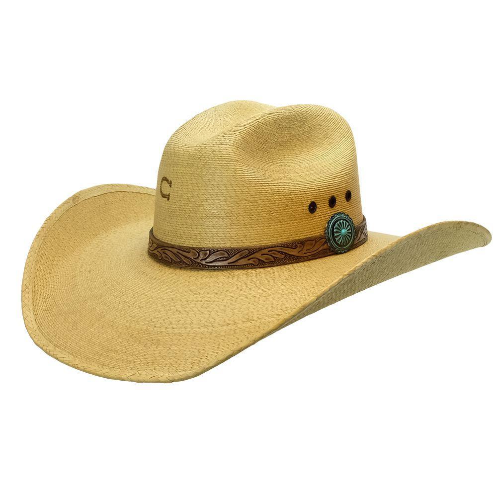 5fb926b31ea829 CSHNHU-2744. Charlie 1 Horse Honey Hush Natural Straw With Leather Tool  Band. CSHNHU-2744