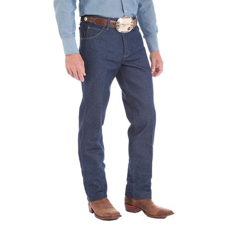 Wrangler Mens Premium Performance Cowboy Cut Regular Fit Jean - Rigid