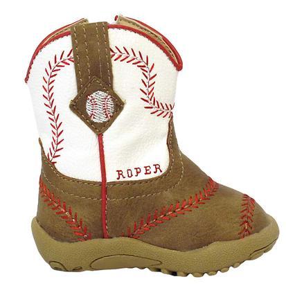 Roper Infant Baseball Boot w/Zipper