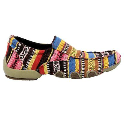 Roper Womens Multi-Colored Casual Slip On Shoes