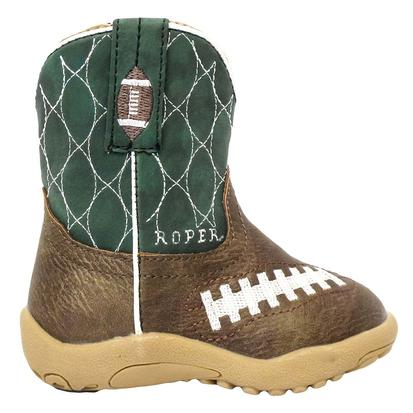 Roper Infant Kelley Green Football Cowboy Boots