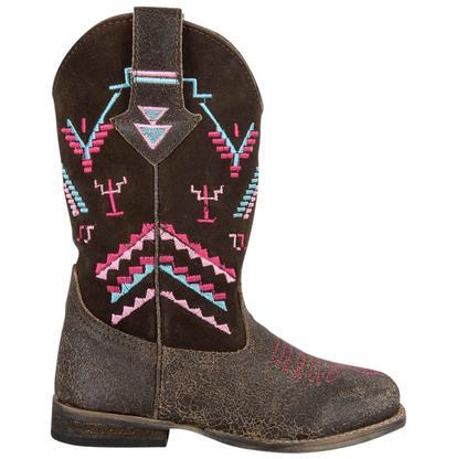 Roper Kids Hunter Square Toe Boots