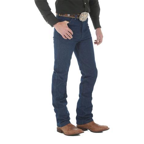 Wrangler Men's Cowboy Cut Slim Fit Jeans - Rigid Indigo