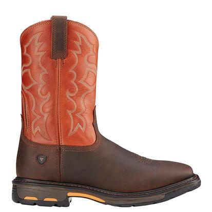 Ariat Workhog Dark Earth Mens Boots
