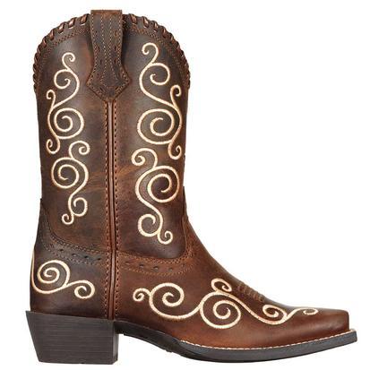 Ariat Kids' Shelleen Distressed Cowboy Boots