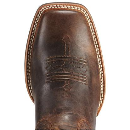 Ariat Mens Tombstone Wide Square Toe Cowboy Boots