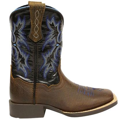 Ariat Kids and Youth Lightning Blue Tombstone Cowboy Boots