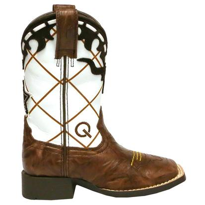 Ariat Dakota Brown and White Dogger Boots