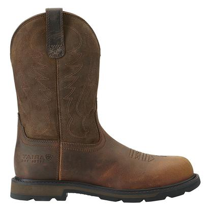 Ariat Mens Groundbreaker Pull-On Work Boots