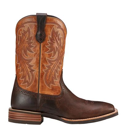 Ariat Mens Quickdraw Western Boots - Thunder Brown