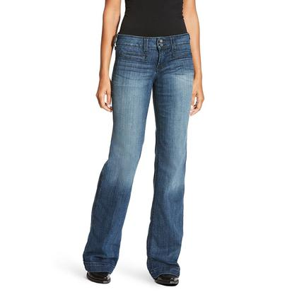Ariat Women's Ella Bluebell-Washed Trouser Jeans