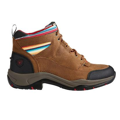 Ariat Womens Terrain Walnut Serape Shoe
