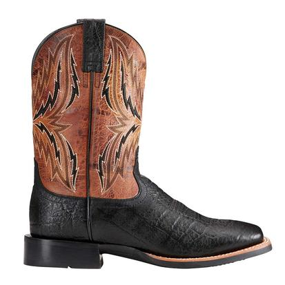 Ariat Mens Arena Rebound Black Elephant Boots