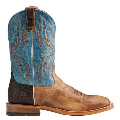 Ariat Mens Arena Rebound Blue Wheat Boot
