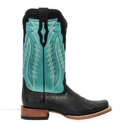 Ariat Mens Relentless Prime Black Bullhide Aquatop Boots