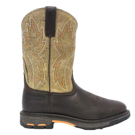 47e60c7a400 Men's Western Work Boots