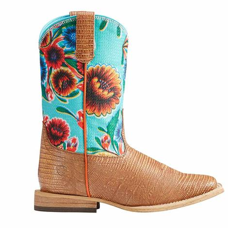 Ariat Girls Gringa Floral Boots