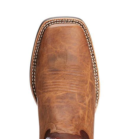 Ariat Mens Branding Pen Tobacco Cowboy Boots