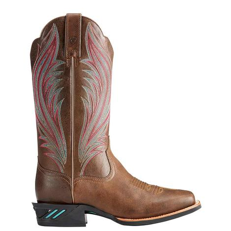 Ariat Womens Catalyst Prime Chuckwagon Brown Boot